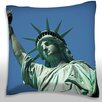 Maxwell Dickson The Statue of Liberty, New York City Throw Pillow