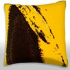 Maxwell Dickson Abstract Paint Design Throw Pillow