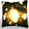Maxwell Dickson Stars Exploding Throw Pillow