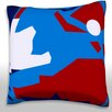 Maxwell Dickson Abstract Shapes Throw Pillow