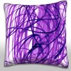 Maxwell Dickson Intertwined Pattern Throw Pillow