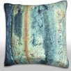 Maxwell Dickson Textured Rust Surface Throw Pillow
