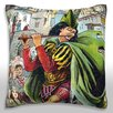 Maxwell Dickson Pied Piper Leading Children Throw Pillow