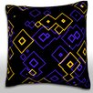 Maxwell Dickson Graphic Geometric Pattern Throw Pillow