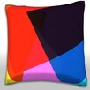 Maxwell Dickson Texture Overlapping Throw Pillow