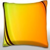 Maxwell Dickson Abstract Bands of Color Throw Pillow