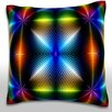 Maxwell Dickson Colorful Background Throw Pillow
