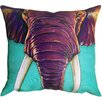 Maxwell Dickson 'Elephant in the Room' Throw Pillow