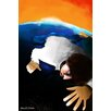 Maxwell Dickson Earth Guy Painting Print on Canvas