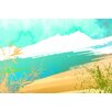 Maxwell Dickson Paradise Sand Painting Print on Canvas
