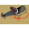 "Maxwell Dickson ""Skater Skateboard"" Painting Print on Canvas"