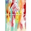 """Maxwell Dickson """"Lustrating Rays"""" Giclee Graphic Art on Canvas"""