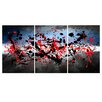 Maxwell Dickson Beautiful Mind 3 Piece Painting Print on Canvas Set