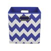 Modern Littles Chevron Toy Storage Bin