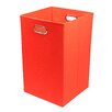 Modern Littles Bold Red Folding Storage Bin