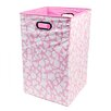 Modern Littles Rose Giraffe Folding Laundry Basket