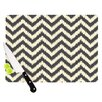KESS InHouse Moonrise Chevron ikat by Amanda Lane Cutting Board