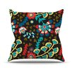 KESS InHouse Wycinanka by Agnes Schugardt Abstract Throw Pillow