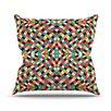 KESS InHouse Retro Grade Throw Pillow