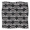 KESS InHouse Art Deco Microfiber Fleece Throw Blanket