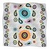 KESS InHouse Moda Paisley Microfiber Fleece Throw Blanket