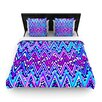 KESS InHouse Electric Chevron Duvet Cover