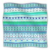 KESS InHouse Emerald Chenoa Fleece Throw Blanket