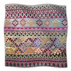 KESS InHouse Tribal Native Fleece Throw Blanket