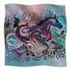 KESS InHouse Poetry in Motion Microfiber Fleece Throw Blanket