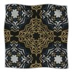 KESS InHouse Golden Fractals Microfiber Fleece Throw Blanket