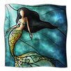 KESS InHouse Mermaid Microfiber Fleece Throw Blanket