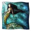 KESS InHouse Mermaid Microfiber Fleece Throw Blanket