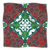 KESS InHouse Lace Flakes Microfiber Fleece Throw Blanket