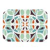 KESS InHouse Stained Glass Orange Purple Placemat