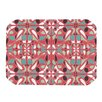 KESS InHouse Stained Glass Pink Placemat