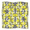 KESS InHouse Flowering Hearts Microfiber Fleece Throw Blanket