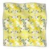 KESS InHouse Spring Flourish Microfiber Fleece Throw Blanket
