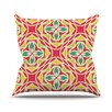 KESS InHouse Christmas Carnival Throw Pillow