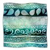 KESS InHouse Dreamy Tribal Microfiber Fleece Throw Blanket