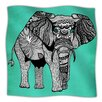 KESS InHouse Elephant of Namibia Microfiber Fleece Throw Blanket