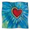 KESS InHouse Love Shines On Microfiber Fleece Throw Blanket