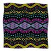 KESS InHouse Tribal Dominance Microfiber Fleece Throw Blanket