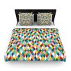 KESS InHouse Harlequin Duvet Cover Collection