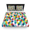 KESS InHouse Harlequin Zoom Duvet Cover Collection