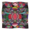 KESS InHouse African Motif Microfiber Fleece Throw Blanket