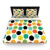 KESS InHouse Retro Dots Repeat by Daisy Beatrice Woven Duvet Cover