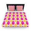 KESS InHouse Moroccan Dreams by Apple Kaur Designs Fleece Duvet Cover