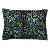 KESS InHouse Peacock Tail by Pom Graphic Design Cotton Pillow Sham