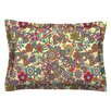 KESS InHouse My Butterflies & Flowers by Julia Grifol Cotton Pillow Sham