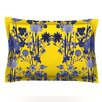 KESS InHouse Bloom Flower by Debora Chodik Woven Pillow Sham